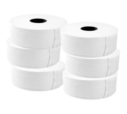 Toilet Rolls WHITE Jumbo