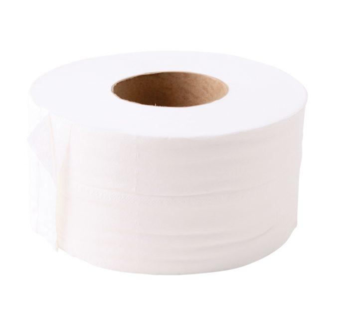 Toilet Rolls WHITE Mini Jumbo