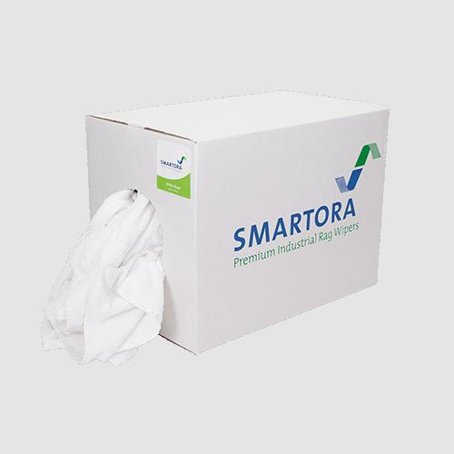 White Towel Rags Box