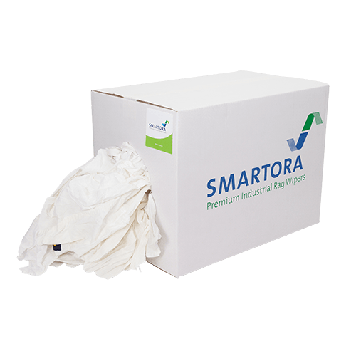 Mixed White Cotton 5/10kg Box