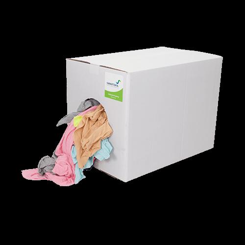 Soft Coloured Cotton 5/10kg - box