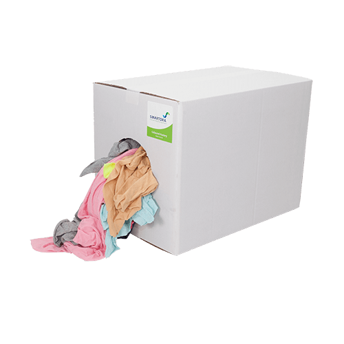 Soft Coloured Cotton 5/10kg - box