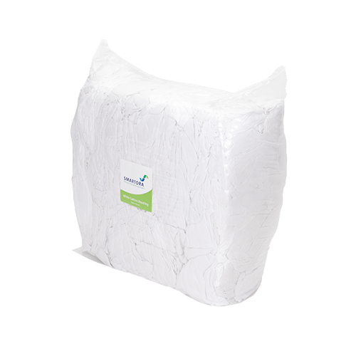 White Sheeting Wipers 5/10kg - Bag