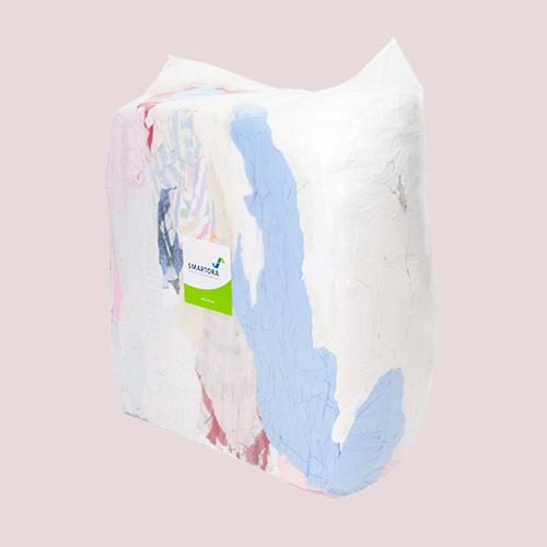Coloured Flannelette Rags - Bag