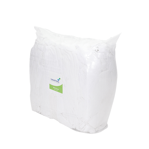 White Towel Wipers - 8kg Bag