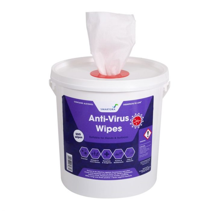 Smartora Anti Virus Wipes 500 sheet