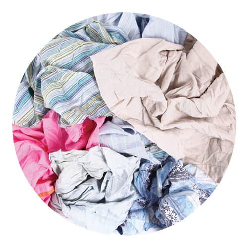Light Coloured Cotton Rags