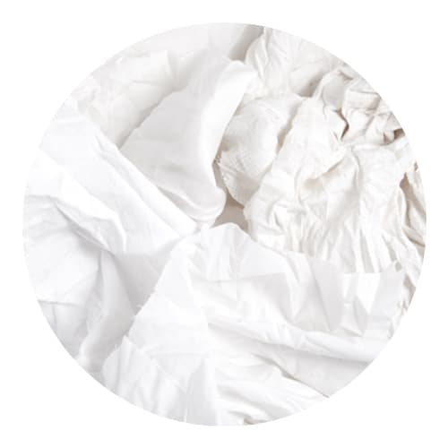 Mixed White Cotton Rags 5/10kg
