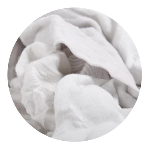 White T-Shirt Rags 5/10kg